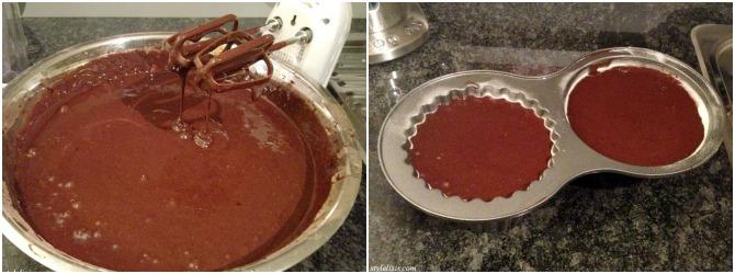 Gluten Free Dairy Free Giant Cupcake Chocolate Vegan Recipe Collage