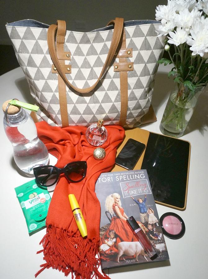 Given Goods Co Handbag Travel Essentials Christmas Holidays Pack Style Elixir www.stylelixir.com Fashion Blog Lifestyle
