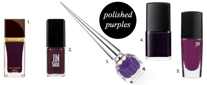 Fall fashion Nail Polish Trends 2014 deep red purple navy pale pink blogger style elixir www.stylelixir.com blog