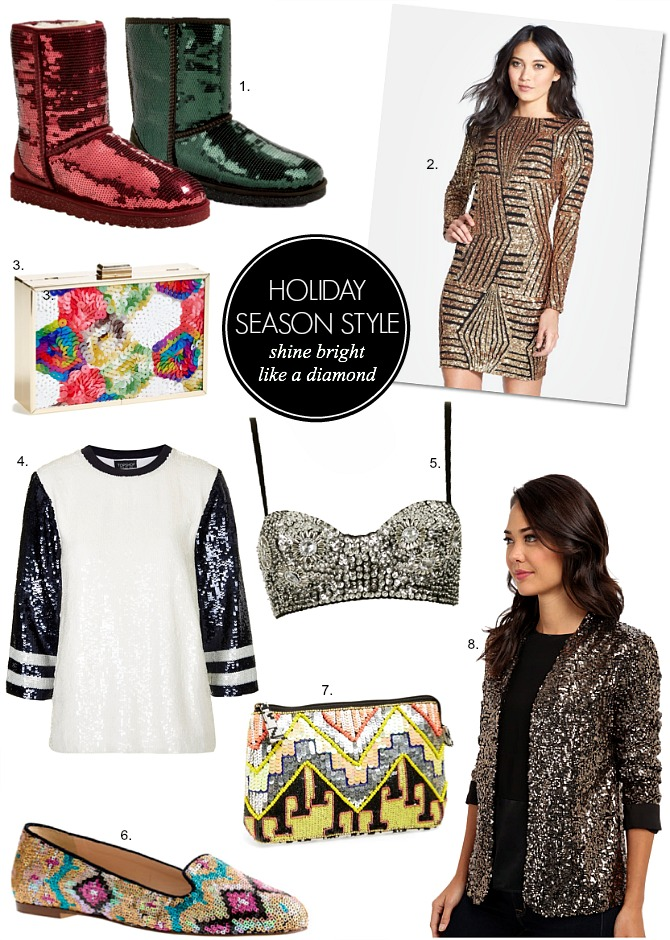 Christmas Festive season party dresses stylish outfits sequins