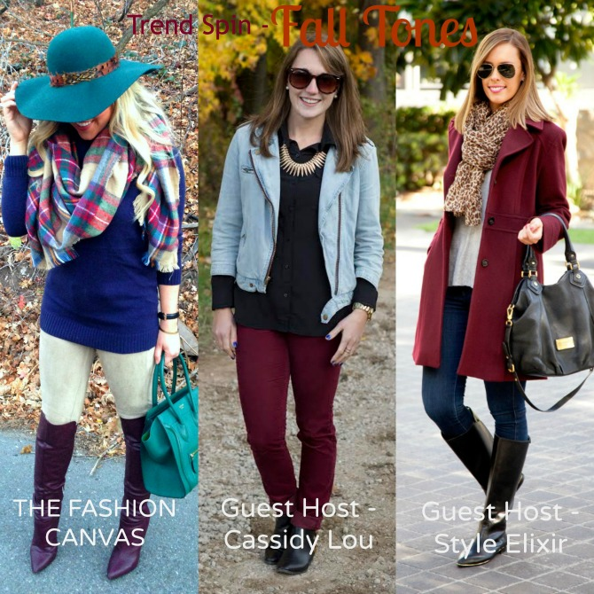 Trend Spin Fashion Link Up Fall Tones Cute fall outfits fashion blogger outfits for fall