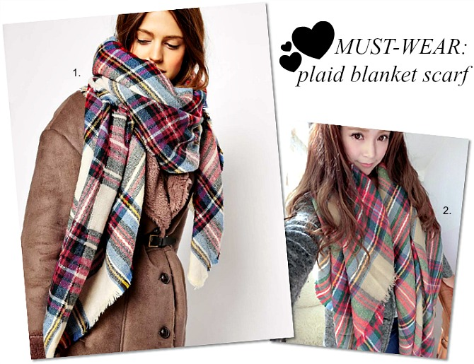 Zara Plaid blanket scarf blair eadie atlantic pacific how to wear plaid scarf fashion blogger style elixir www.stylelixir.com perfect winter outfit ASOS check scarf