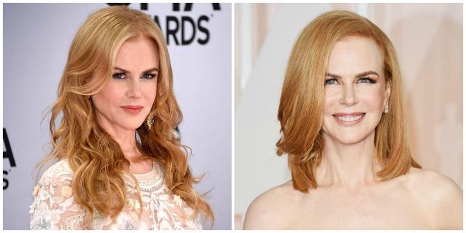 Nicole Kidman short hair 2015