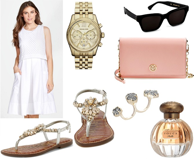 Michael Kors Lexington Watch Tory Burch blush bag tocca stella perfume style elixir fashion blog www.stylelixir.com fashion blogger spring trends