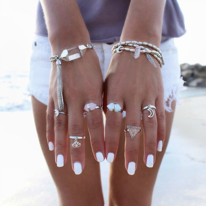 the best white nail polish beauty trend