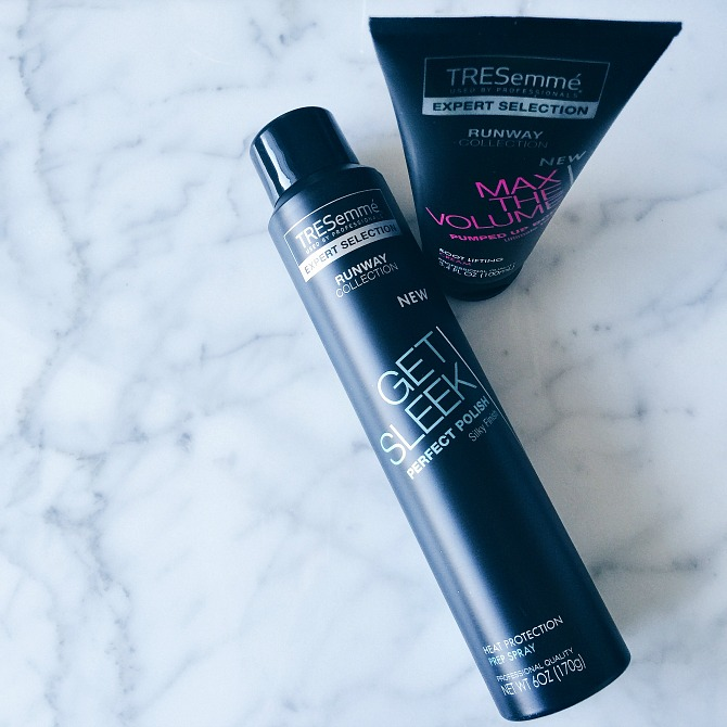 TRESemme runway collection NYFW hair trends style fashion week