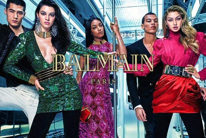 Balmain x hm preview range collection