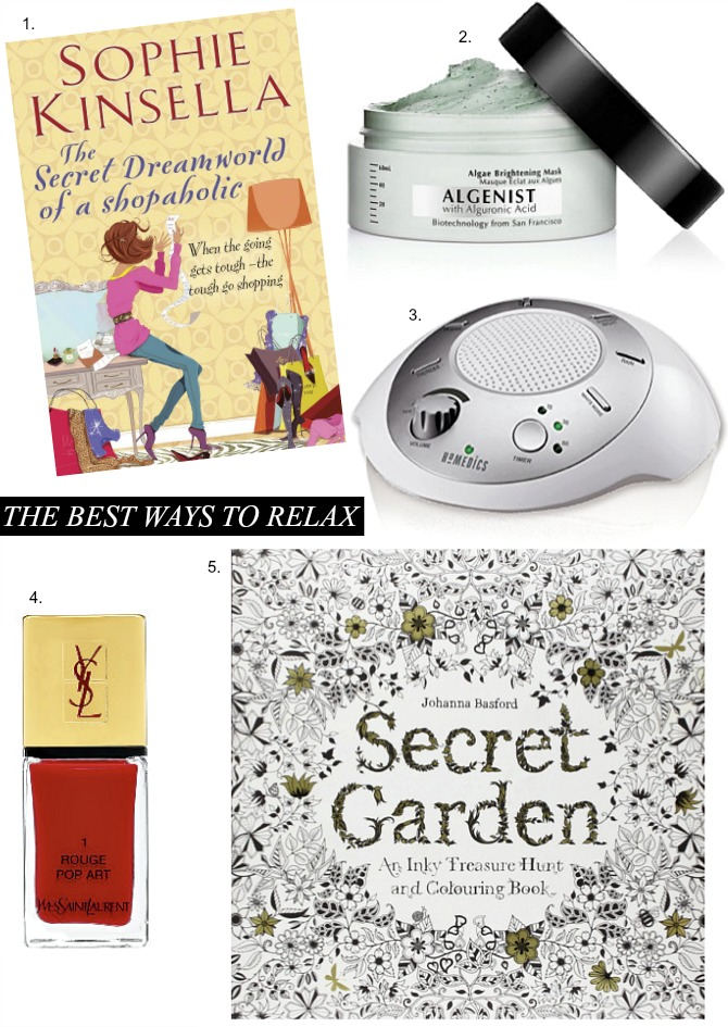 Best ways to relax adult coloring book sophie kinsella shopaholic review homedics spa relaxation sound machine