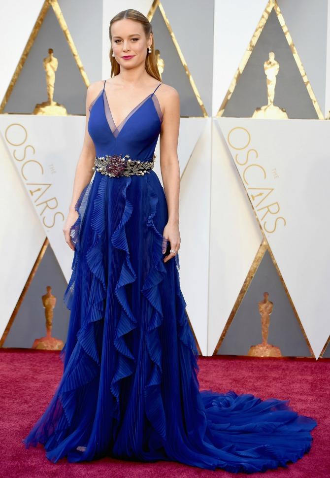 brie-larson-red-carpet- 2016 Oscars Best Dressed