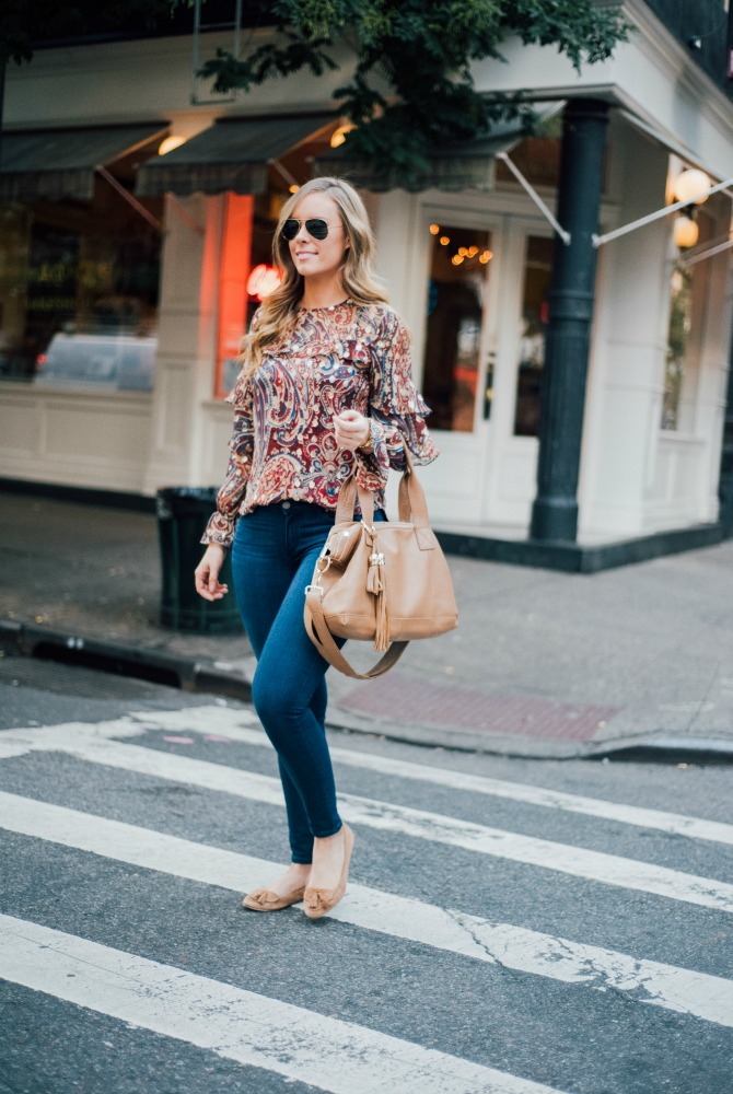 haute-hippie-kennedy-ruffle-blouse-j-brand-jeans-boho-style-soho-new-york-street-style-fashion-blogger-lauren-slade-style-elixir-blog-everyday-outfit-ideas