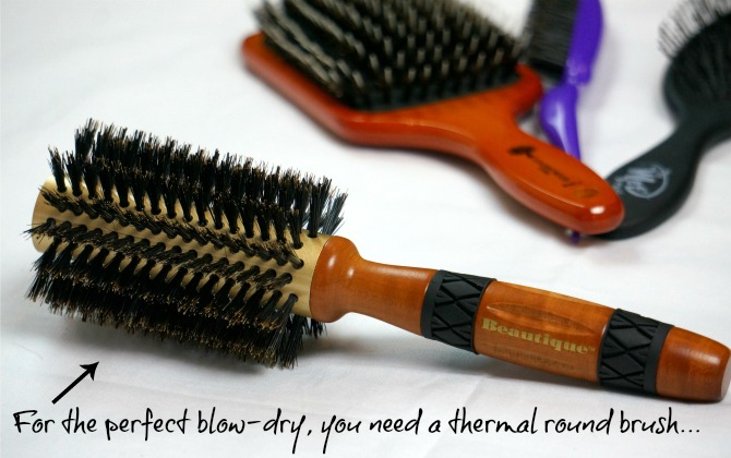 thermal round blow dry brush review the best hair brushes under $10