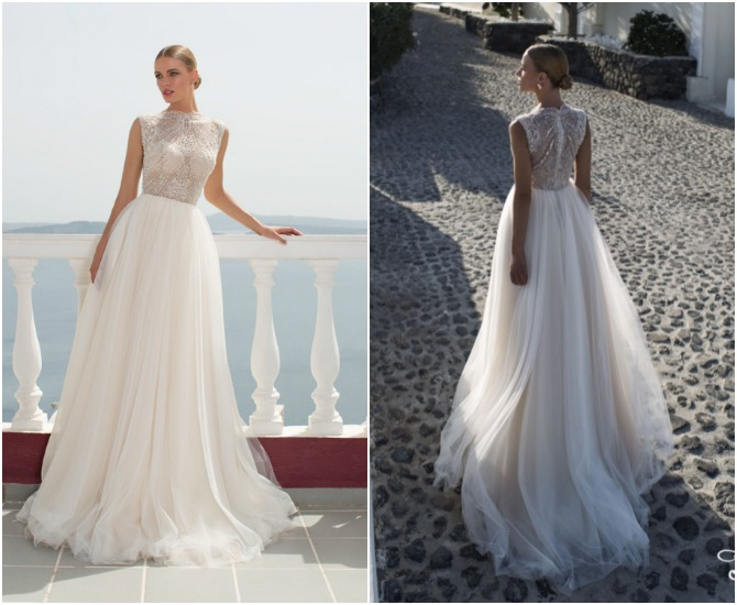 Cheap Wedding Dresses Fast Shipping 13 Perfect julie vino santorini bridal