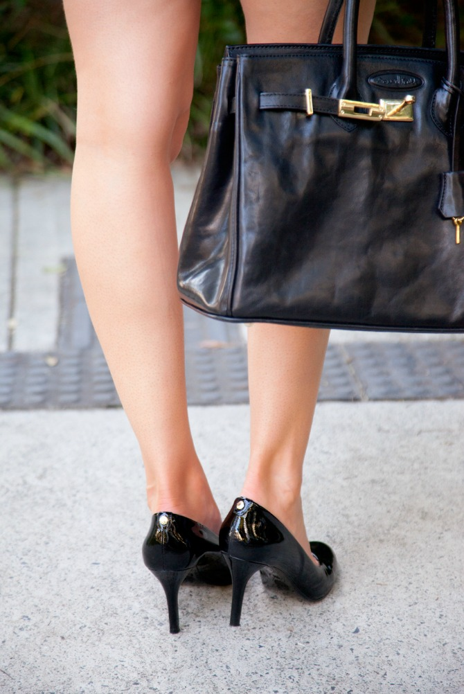 shoes every girl needs black patent heels