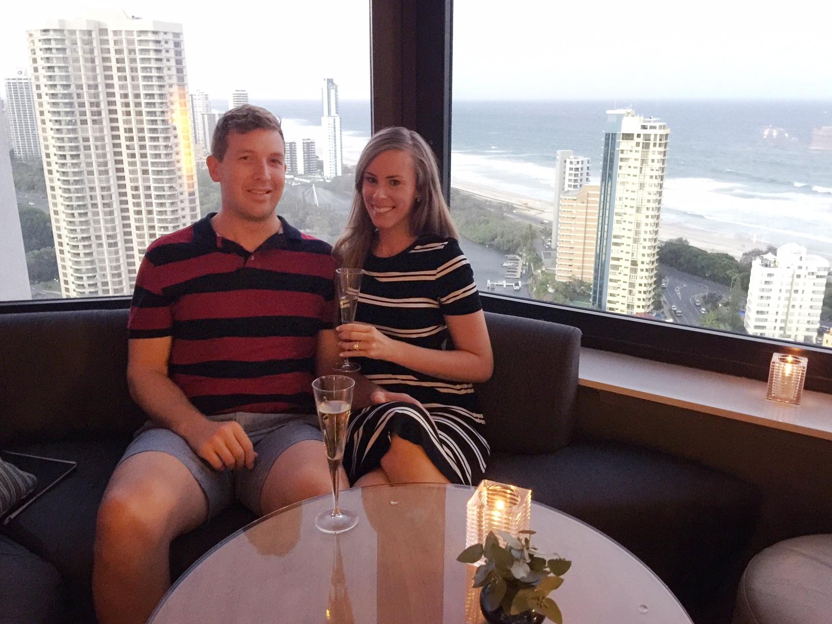 surfers paradise marriott resort and spa gold coast australia beach honeymoon romantic couples holiday luxury vacation hotel review