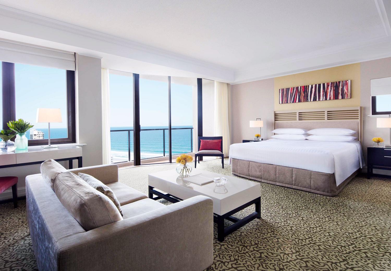 surfers paradise marriott resort and spa gold coast australia beach honeymoon romantic couples holiday luxury vacation