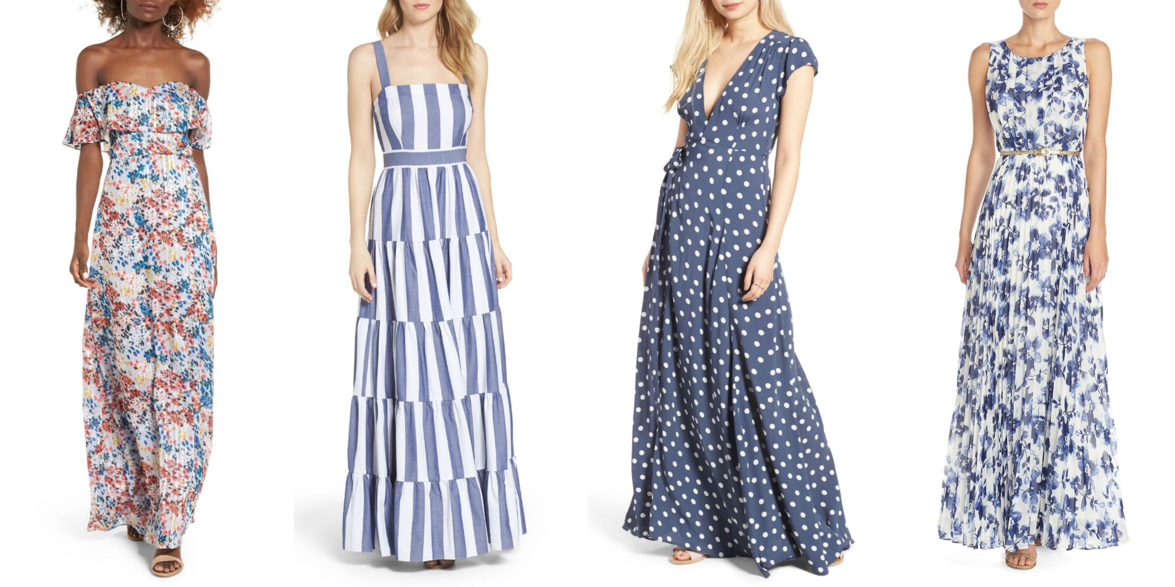 vacation outfit ideas best maxi dresses