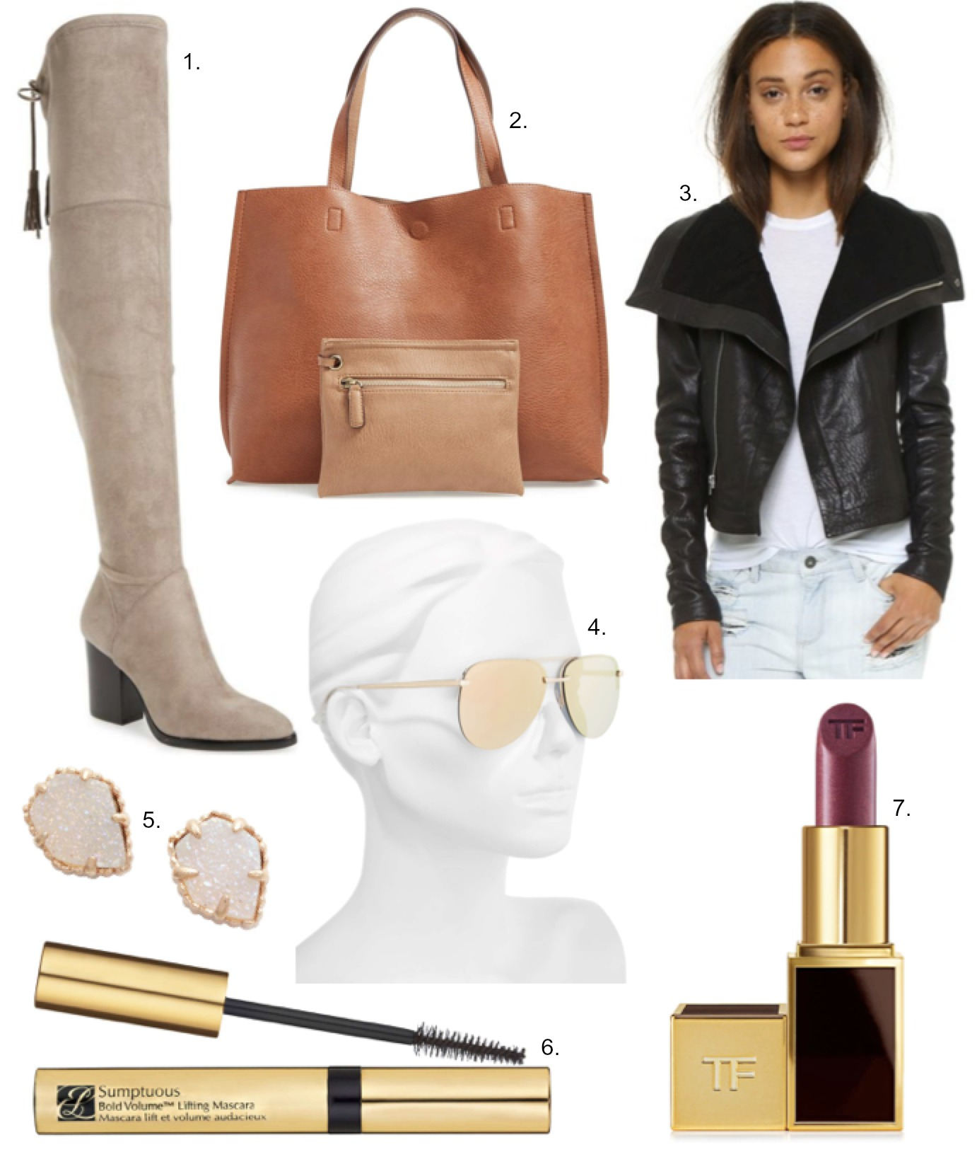 currently covet marc fisher alinda over the knee boots veda max leather jacket