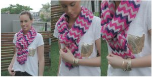 Chevron Scarf 300x153 Wrap It Up!
