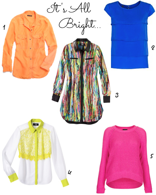 Clothing Brights Upload Trend Alert: Its All Bright