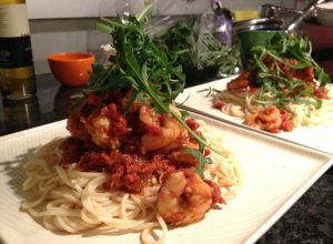 Prawn Pasta Specialty Dish 300x220 Every Girl Needs A Go To Recipe