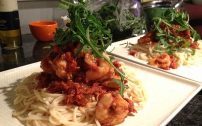 Every Girl Needs A Go-To Recipe – Prawn Pasta