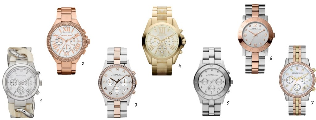 Watches UPLOAD Michael Kors vs. Marc Jacobs + PLUS a $350 Giveaway!