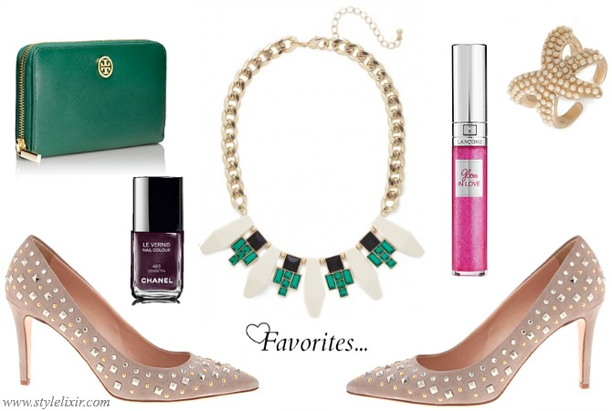 Favorites-FFF-Chanel-JCrew-Lancome-BaubleBar-Tory-burch