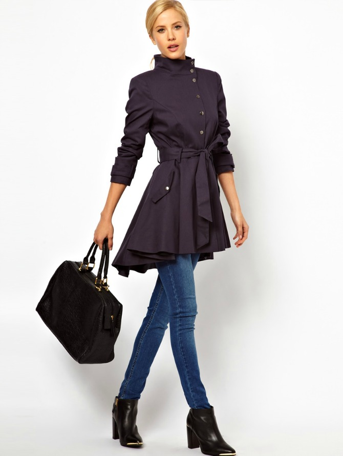 Trench Swing Coat ASOS