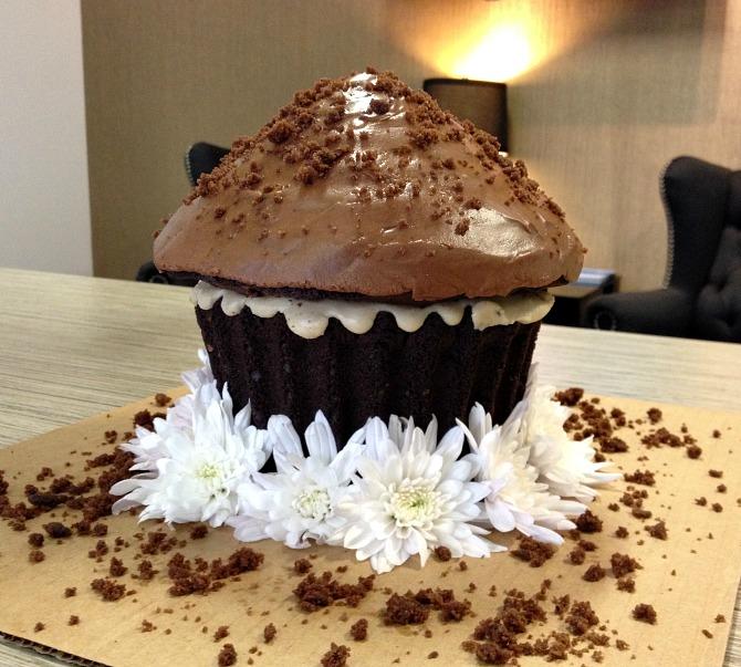 Gluten Free Dairy Free Vegan Chocolate Cake Giant Cupcake Recipe