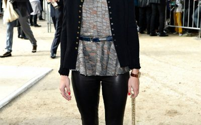 Celebrity Style:  What They Wore – Paris Fashion Week 2013