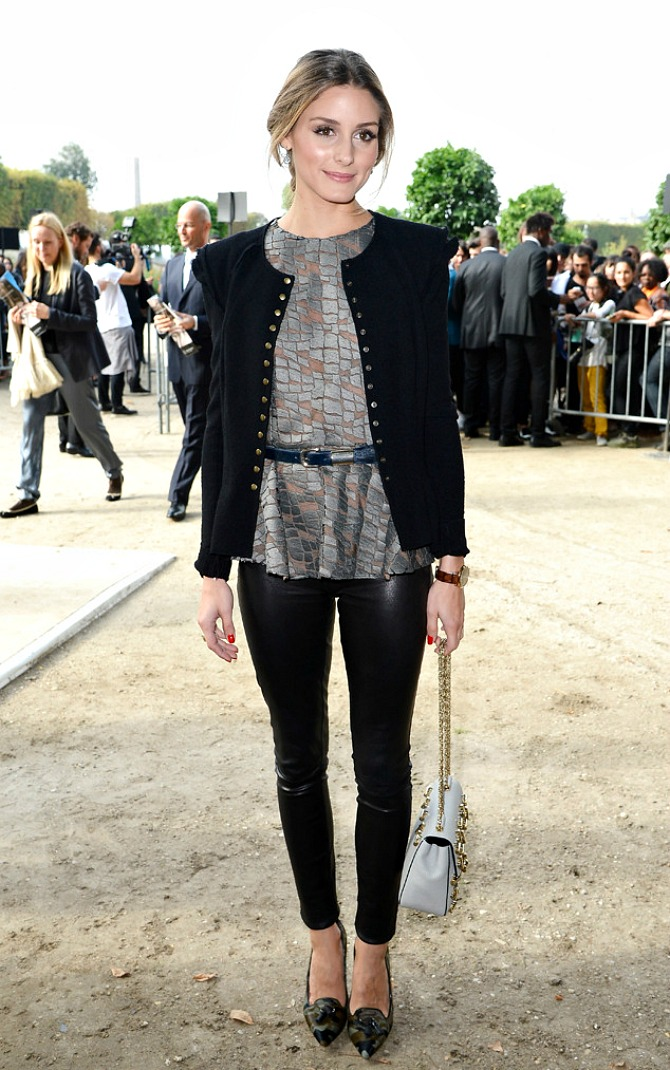 Olivia Palermo Paris Fashion Week 2013