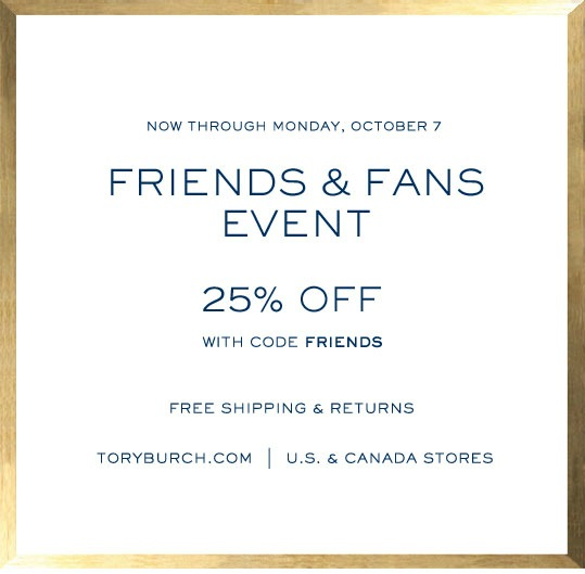 Tory burch birthday coupon exclusions
