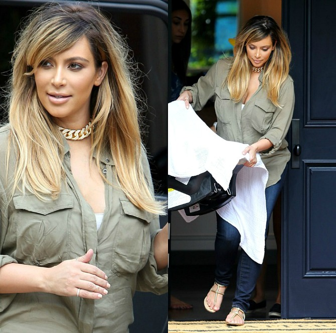 UP Kim-Kardashian-Debuts-Blonde-Hair-Post-Baby-2013