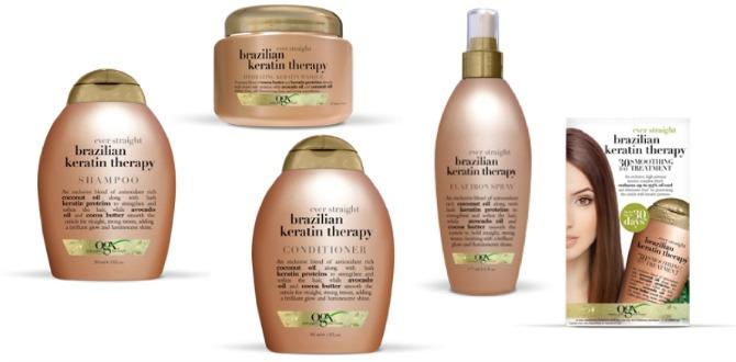 Keratin Hair Care Treatment Salon Organix Product Review Beauty Blog Fashion Blogger Style Elixir www.stylelixir.com Shiny Soft Hair
