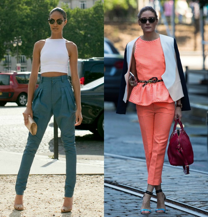 Top Trend Crop and Peplum 2014 Fashion Style Elixir www.stylelixir.com Blog Olivia Palermo
