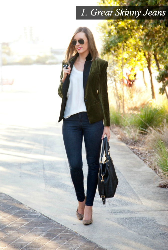 J Brand Skinny JEans Must Have Favorite Womens Denim Style Elixir Fashion Blog Lifestyle Blogger