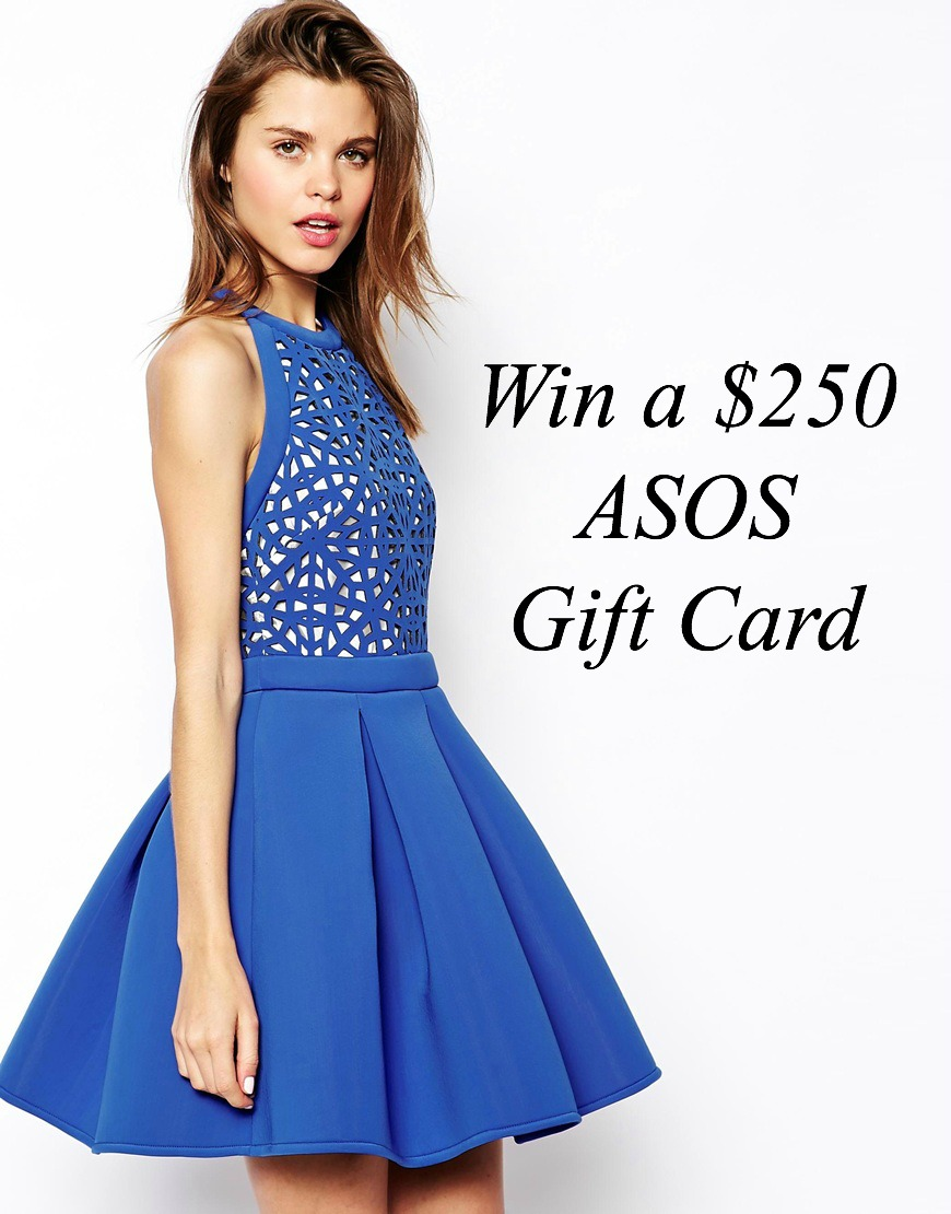 Giveaway win $250 ASOS Gift Card Fashion style shop online blogger Style Elixir www.stylelixir.com lifestyle blog
