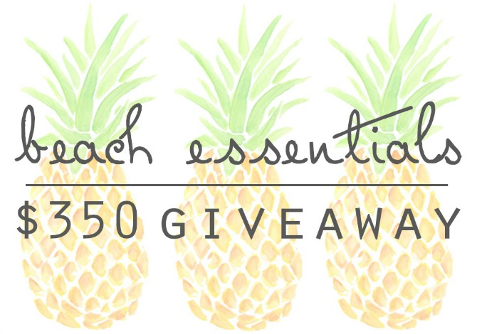 Summer Style Beach Essentials Giveaway