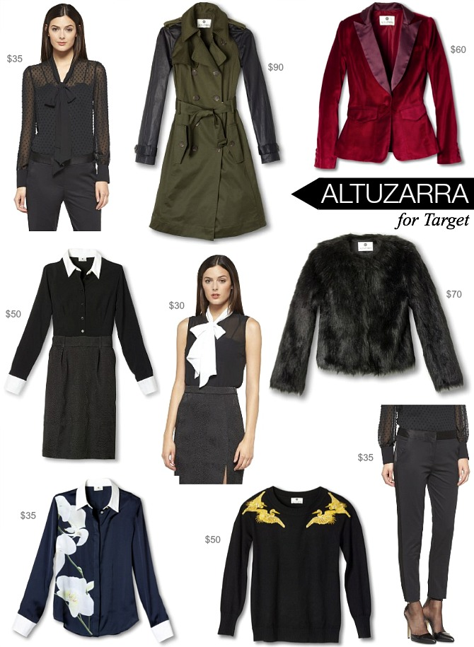 Altuzarra for Target designer collaboration shop fashion under $100 style elixir blog www.stylelixir.com blogger