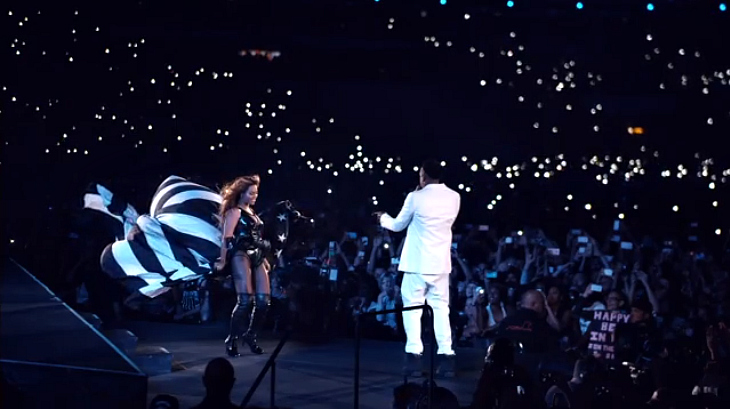 Beyonce and Jay-Z On the Run Tour Paris Forever Young Halo mash-up