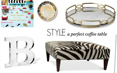 Dress Your Nest: Style A Perfect Coffee Table