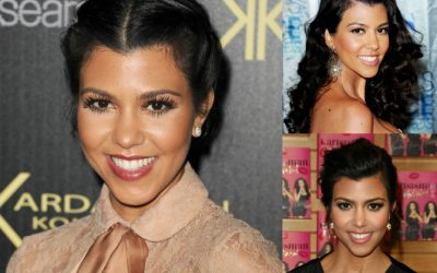 Celebrity Beauty: Kourtney Kardashian's Makeup Routine