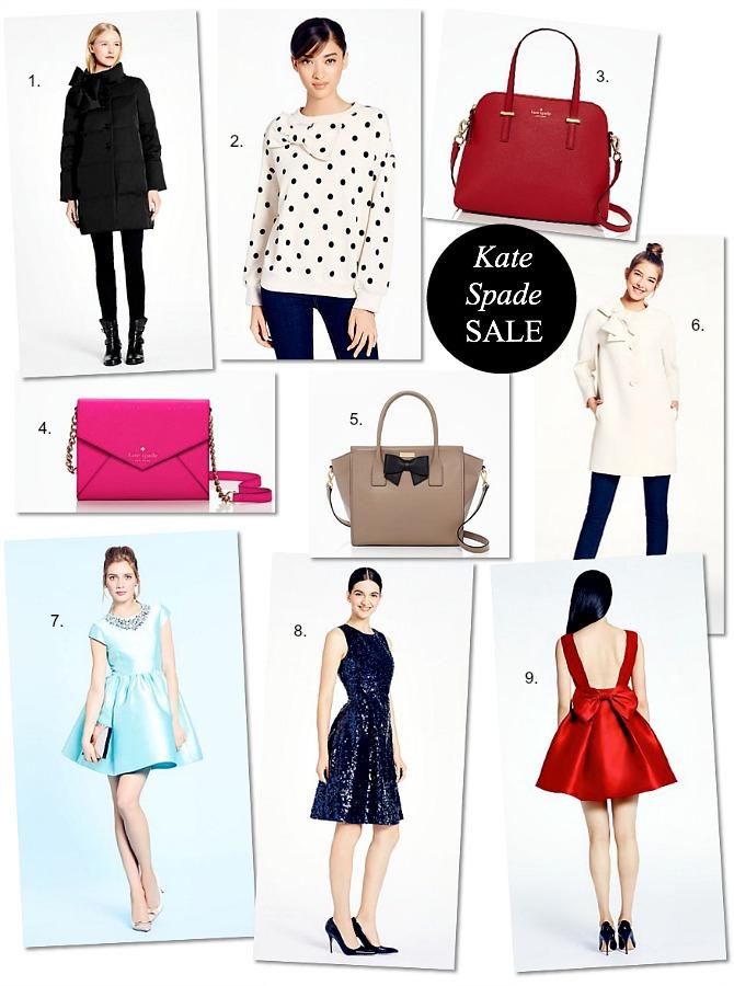 Kate Spade sale discount promo code shop new york style fashion blog www.stylelixir.com style elixir blogger