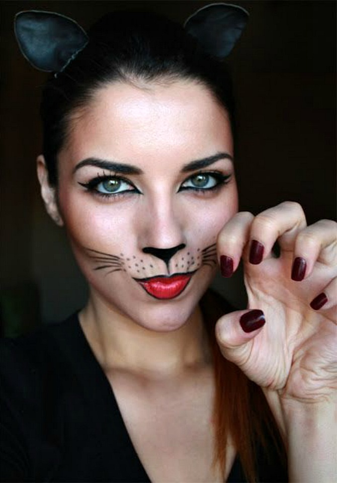 Best Halloween Makeup Ideas Cat