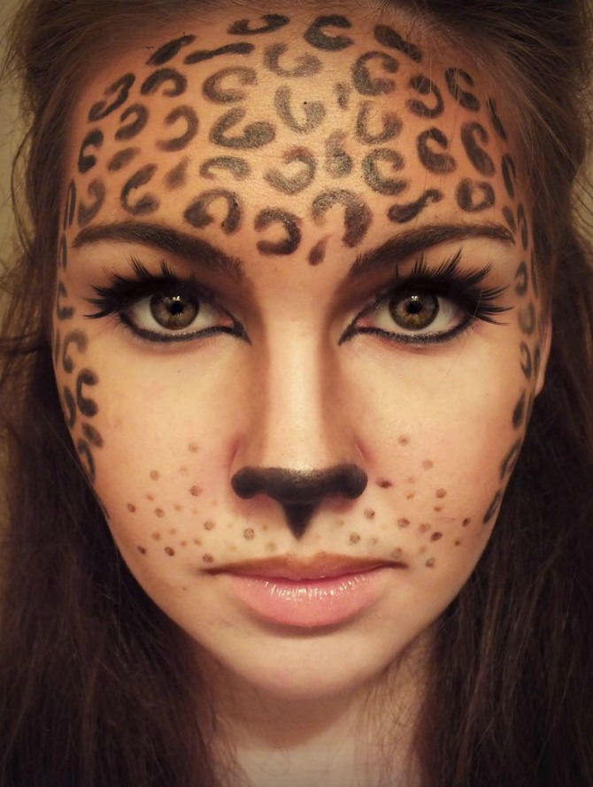 Best Halloween Makeup Ideas Leopard