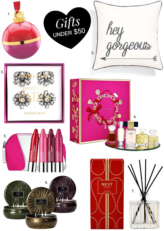 Good gift ideas under $50 christmas present