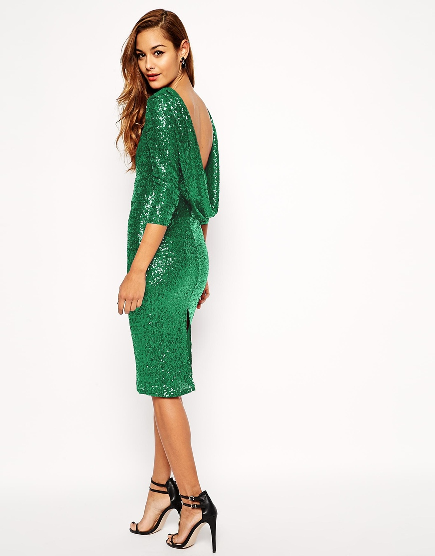 New years outfit ASOS sequin party dress