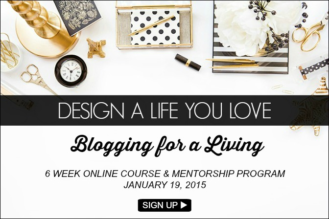 Blogging for a living how to blog course