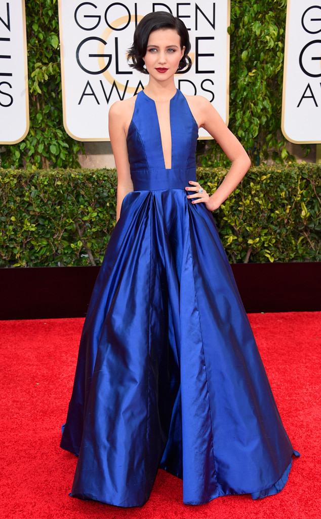 Julia Goldani Telles golden globes best dressed 2015