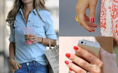 Monday Must Have: Olivia Palermo Style – Red Nail Polish